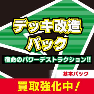 デッキ改造パック 宿命のパワーデストラクション!!